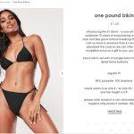 Bikini a 1 euro? Così Missguided scatena il web