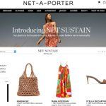 """Svolta green nell'e-commerce. Net-a-porter crea la sezione """"Sustain"""""""