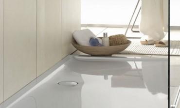 Futurion Flat di Villeroy & Boch, il piatto doccia a filo pavimento