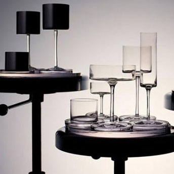 Karl Lagerfeld debutta nella cristalleria con Orrefors