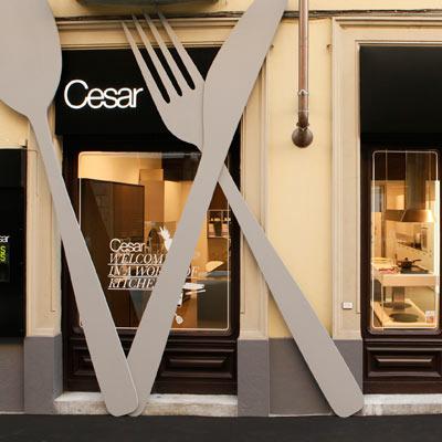 Cesar porta a torino le cucine di design pambianco design for Cucine design torino