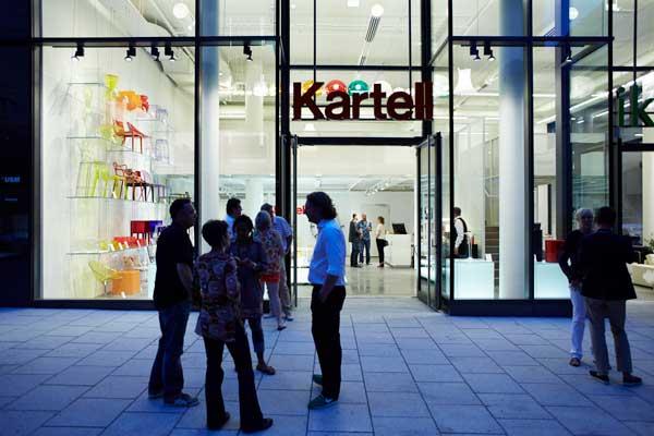 Kartell, il focus del 2014 è sul retail
