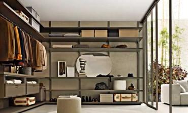 Molteni&C, la cabina armadio diventa una stanza