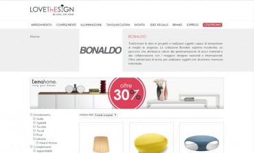 Bonaldo, al via l'e-commerce