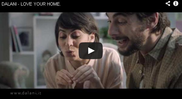 L 39 amore per la casa nello spot dalani pambianco design - Dalani mobili tv ...