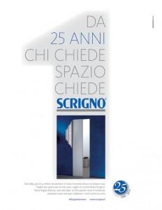 Scrigno - Campagna pubblicitaria 25 anni