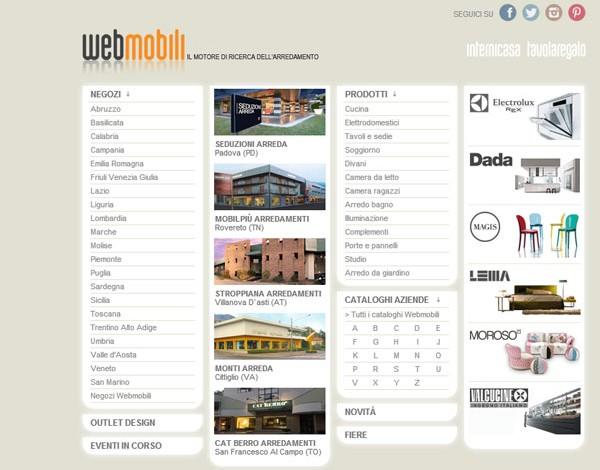 Interni sceglie Webmobili come motore di ricerca per l\'arredo ...