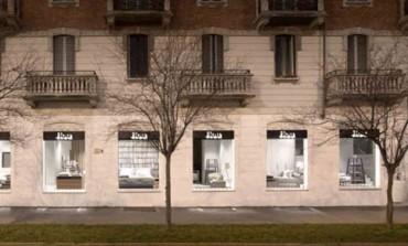 Nuovo showroom a Milano per Flou