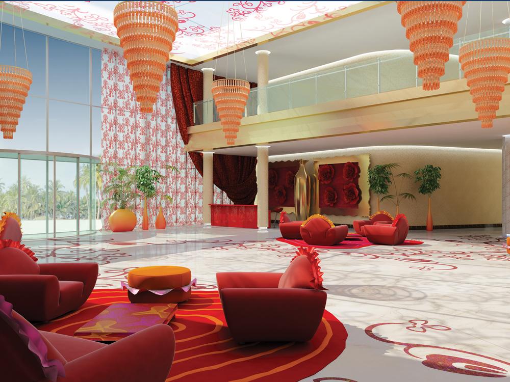 Studio Upa, Hall del Ladies Club di Abu Dhabi
