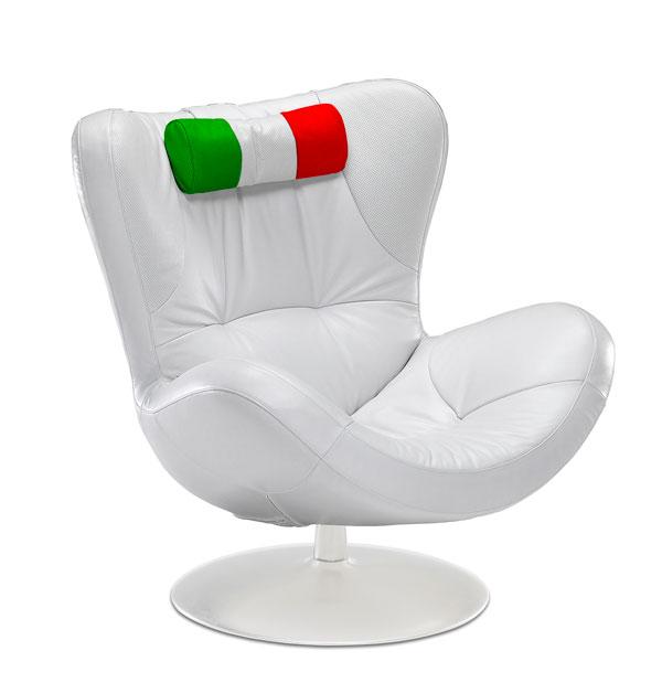 Prezzo Poltrona Sound Natuzzi.I Mondiali In Poltrona Con Natuzzi Pambianco Design