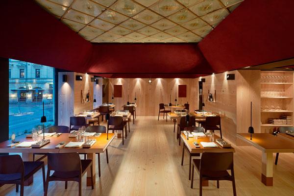 Luceplan illumina il nuovo ristorante Koka a Göteborg