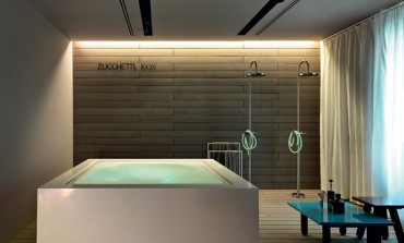 Primo showroom a Milano per Zucchetti. Kos