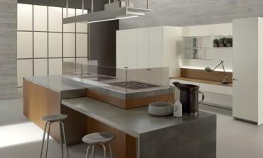 Le cucine Ernestomeda per le residenze milanesi 'Mia'