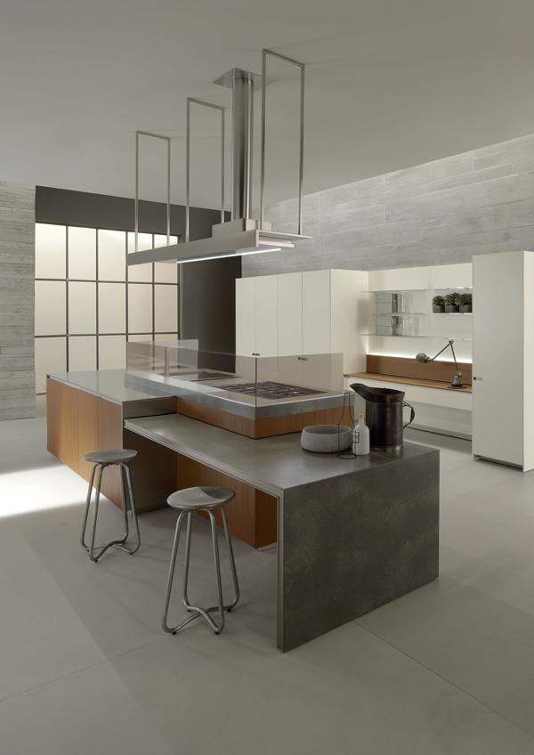 Le cucine ernestomeda per le residenze milanesi mia - Cucine a induzione consumi ...