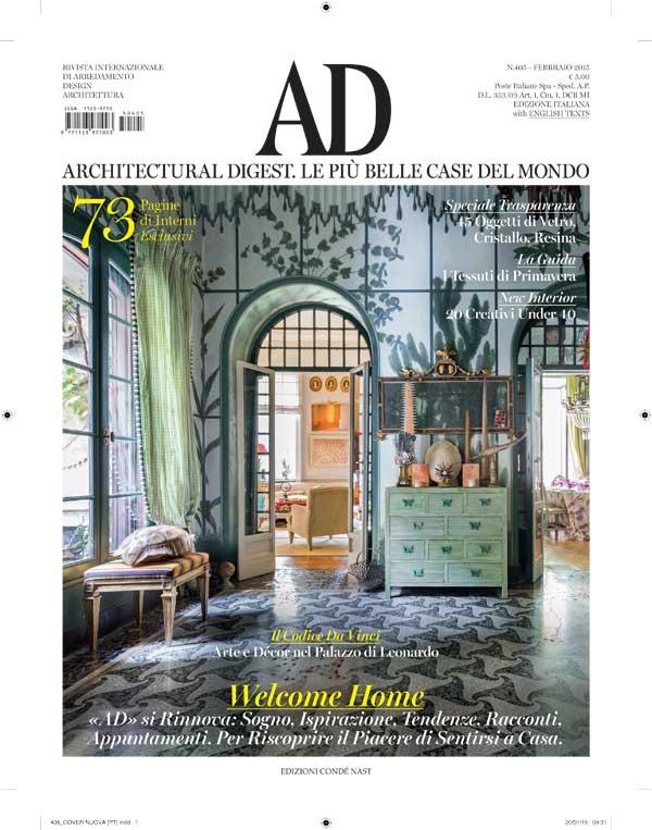 Ad Giornale Di Arredamento Of La Rivista Ad Cambia Con Farneti Pambianco Design