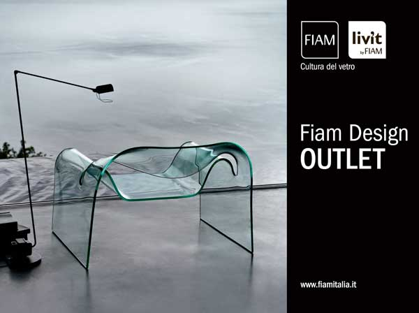Per fiam un outlet del vetro curvato pambianco design for Outlet del design