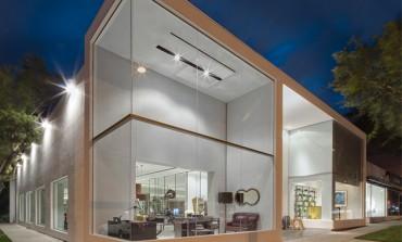 Primo showroom in California per Henge