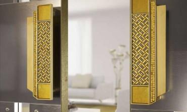 Sicis, mosaico e oro per Door Pulls