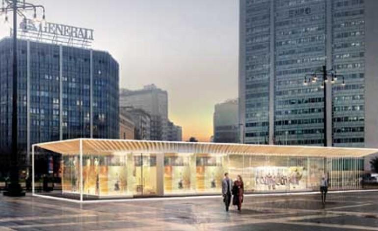 City Pavilion, Cina e Italia si incontrano qui