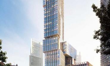 Interni griffati Versace per la Jenga Tower di Londra