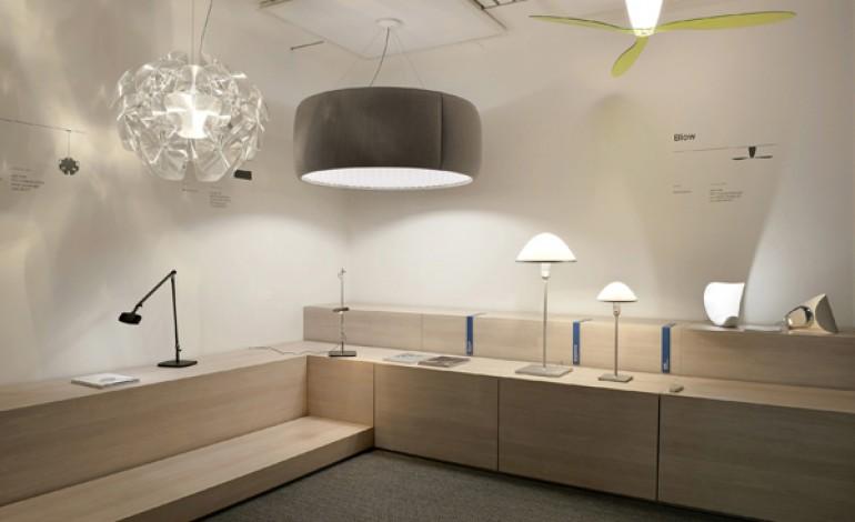 Luceplan rinnova lo showroom milanese