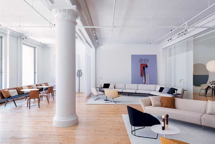 Nuovo showroom a New York per Arper