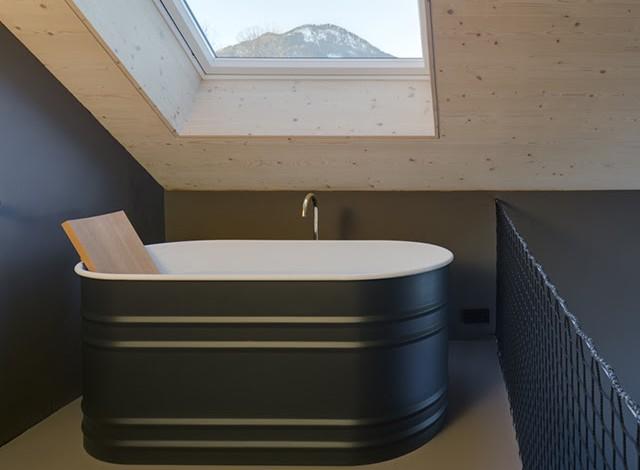 Vasche in scala ridotta per Agape