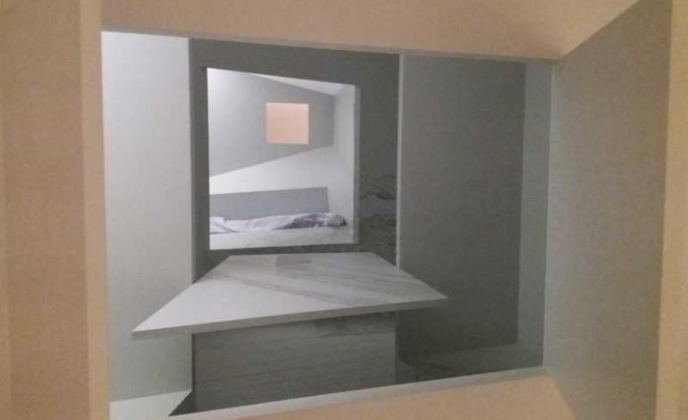 Undici stanze tra vertigini e giochi prospettici