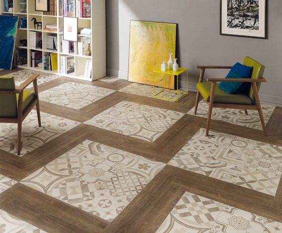 Ceramiche keope si fà vintage con cementine u2013 pambianco design