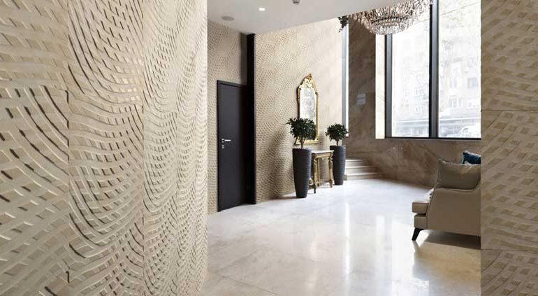 Lithos Design decora con 'Rilievo'