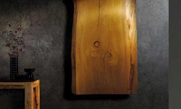 Hom riscalda con ceramica e legno