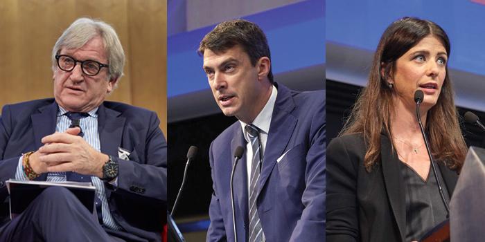 Roberto Snaidero, Paolo Lobetti Bodoni e Laura Angius