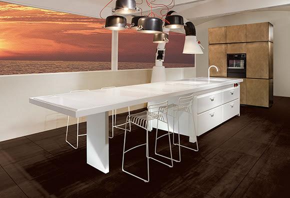 Mina Totale White Per Minacciolo Pambianco Design