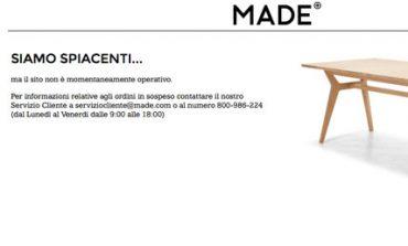 Made.com a rischio chiusura in Italia