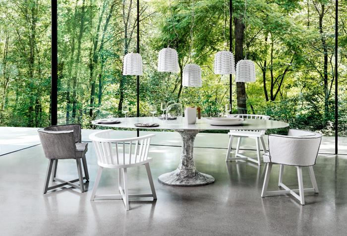 Gervasoni, collezioni Next + Gray + Sweet, design Paola Navone
