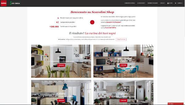 Scavolini debutta nell'e-commerce