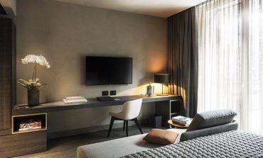 Oluce illumina il nuovo Hotel Viu