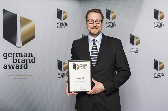 Duka vince il German Brand Award 2017