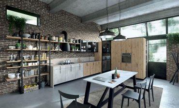 Stile industriale per Aran Cucine