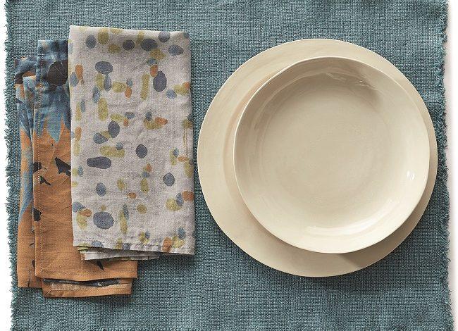 Society Limonta, colori d'autunno a tavola