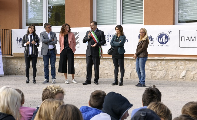Fiam Italia per i bambini di Cascia