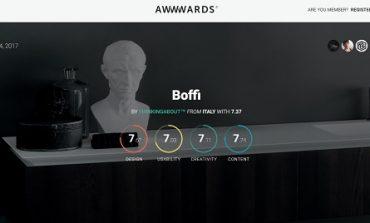 Boffi premiato per il miglior sito web