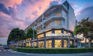 Tris di aperture per Roche Bobois