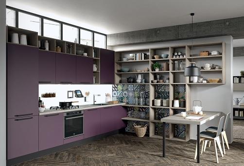 """Faro è """"ultraviolet"""" per Aran Cucine"""