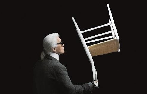 Cassina interpretata da Karl Lagerfeld