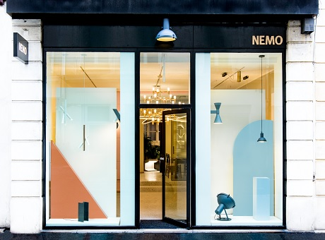 Primo showroom parigino per Nemo