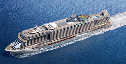 La tecnologia Vimar a bordo della nave dei record