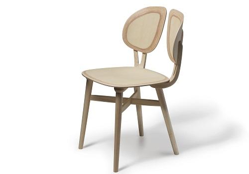 De Lucchi firma la seduta Filla per Very Wood