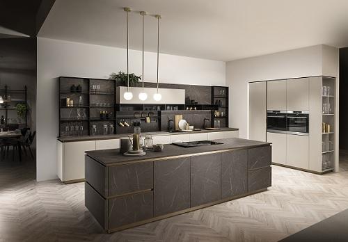 Scavolini lancia delinea con vuesse pambianco design - Barra portautensili cucina scavolini ...