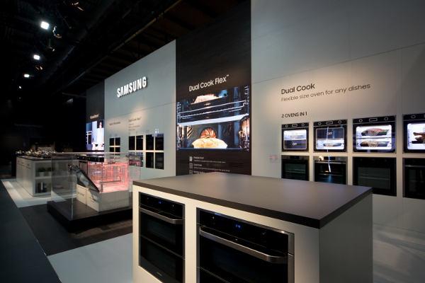 Samsung Electronics debutta a EuroCucina